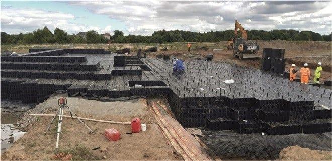 Le unità Wavin Aquacell protagoniste del progetto Glasgow Airport Investment Area (GAIA)
