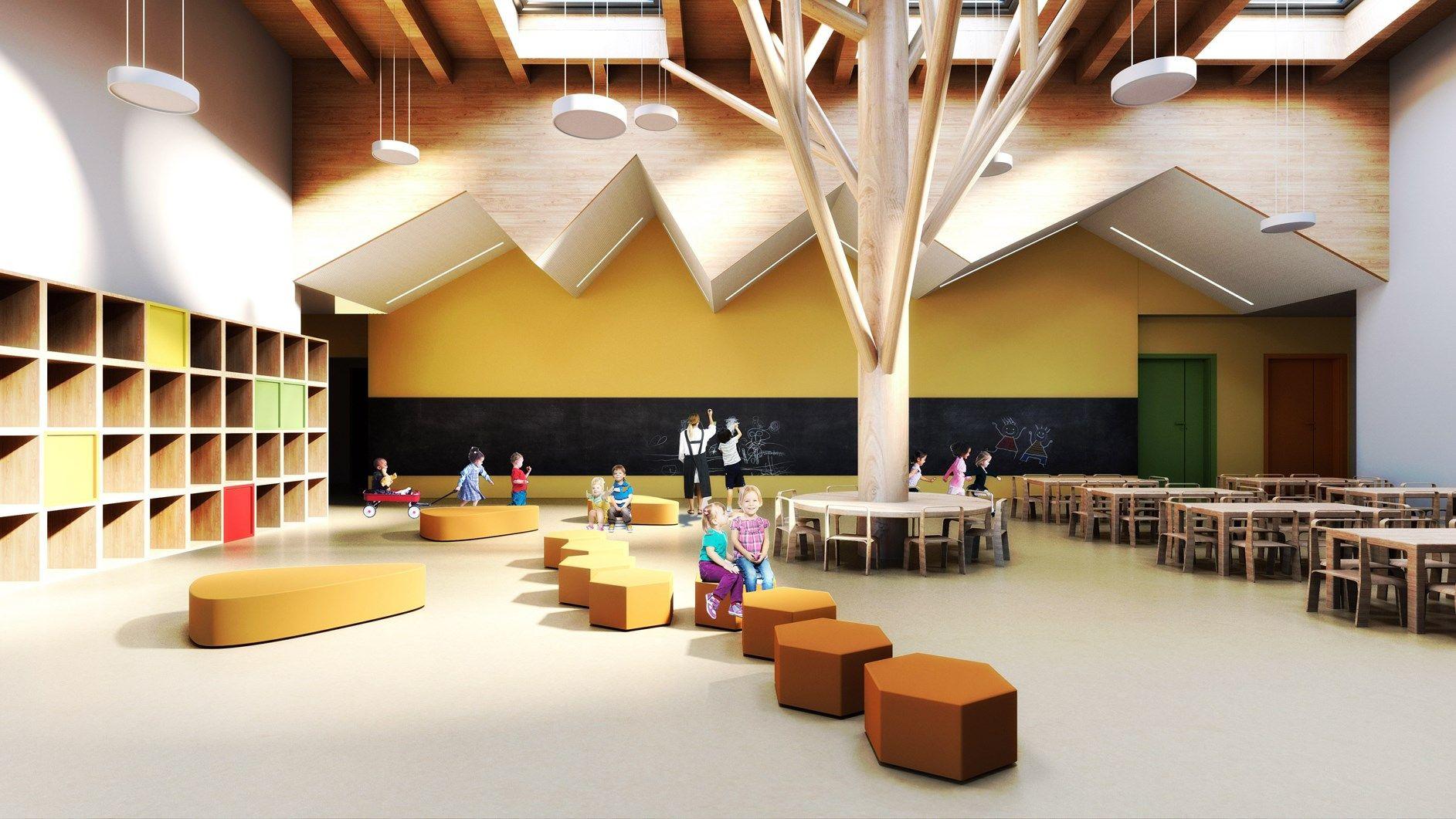 Nuova vita per l'edilizia scolastica, con il contributo di Rockwool