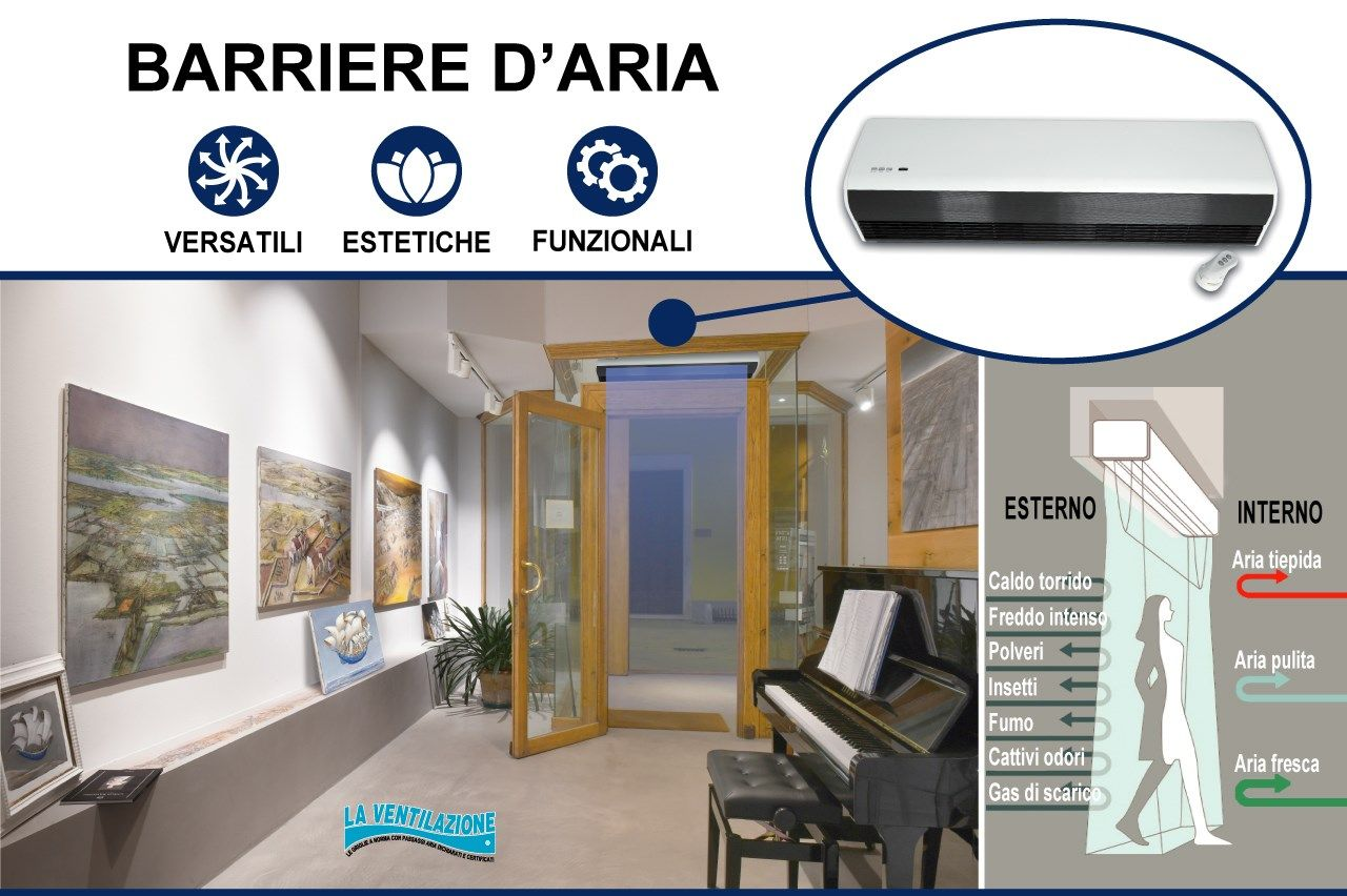 First Corporation presenta le barriere d'aria