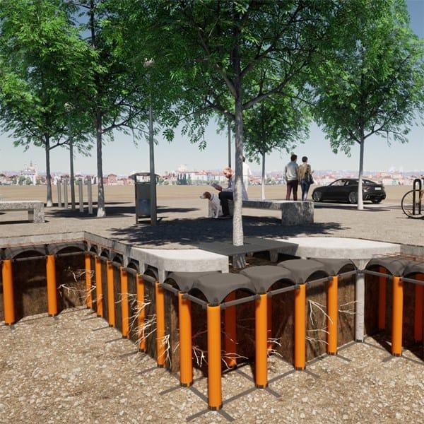 La città di Riccione tutela il verde con Cupolex Radici di Pontarolo Engineering