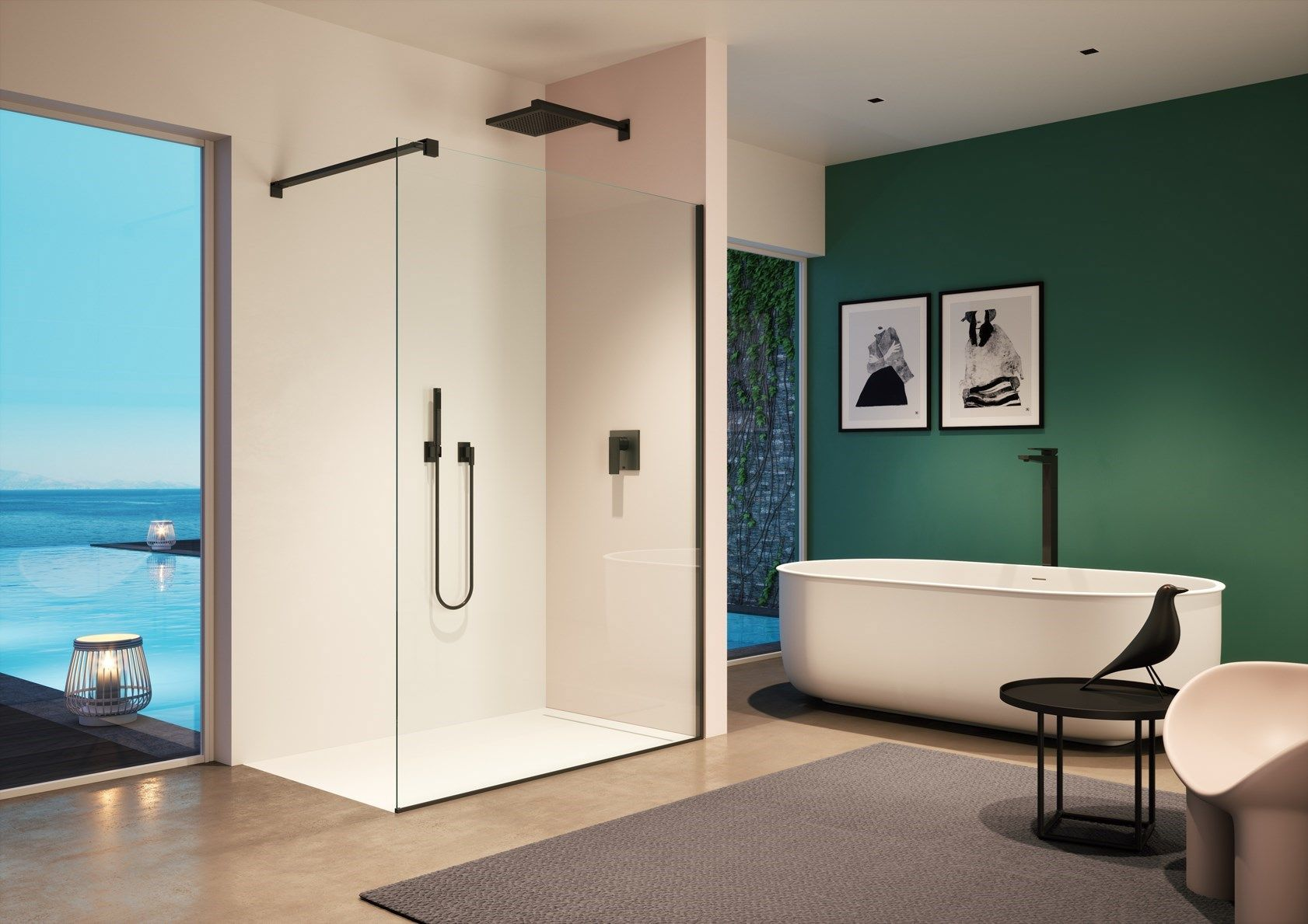 Provex: i vantaggi di una cabina doccia a filo pavimento