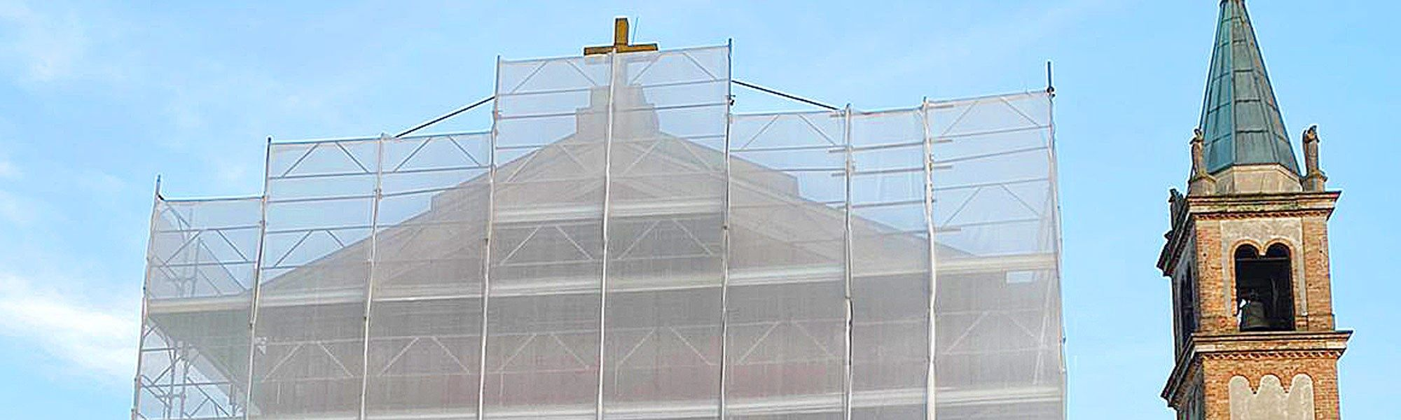 Da EuroEdile i ponteggi per gli interventi sulle chiese