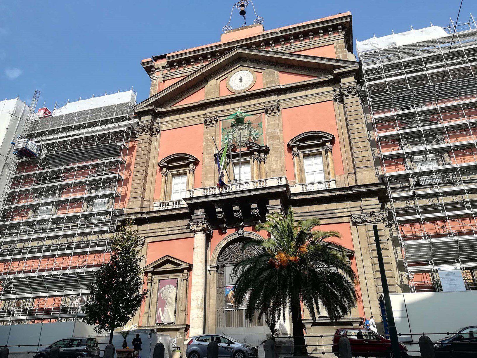 Laterlite per la riqualificazione del Museo Archeologico di Napoli