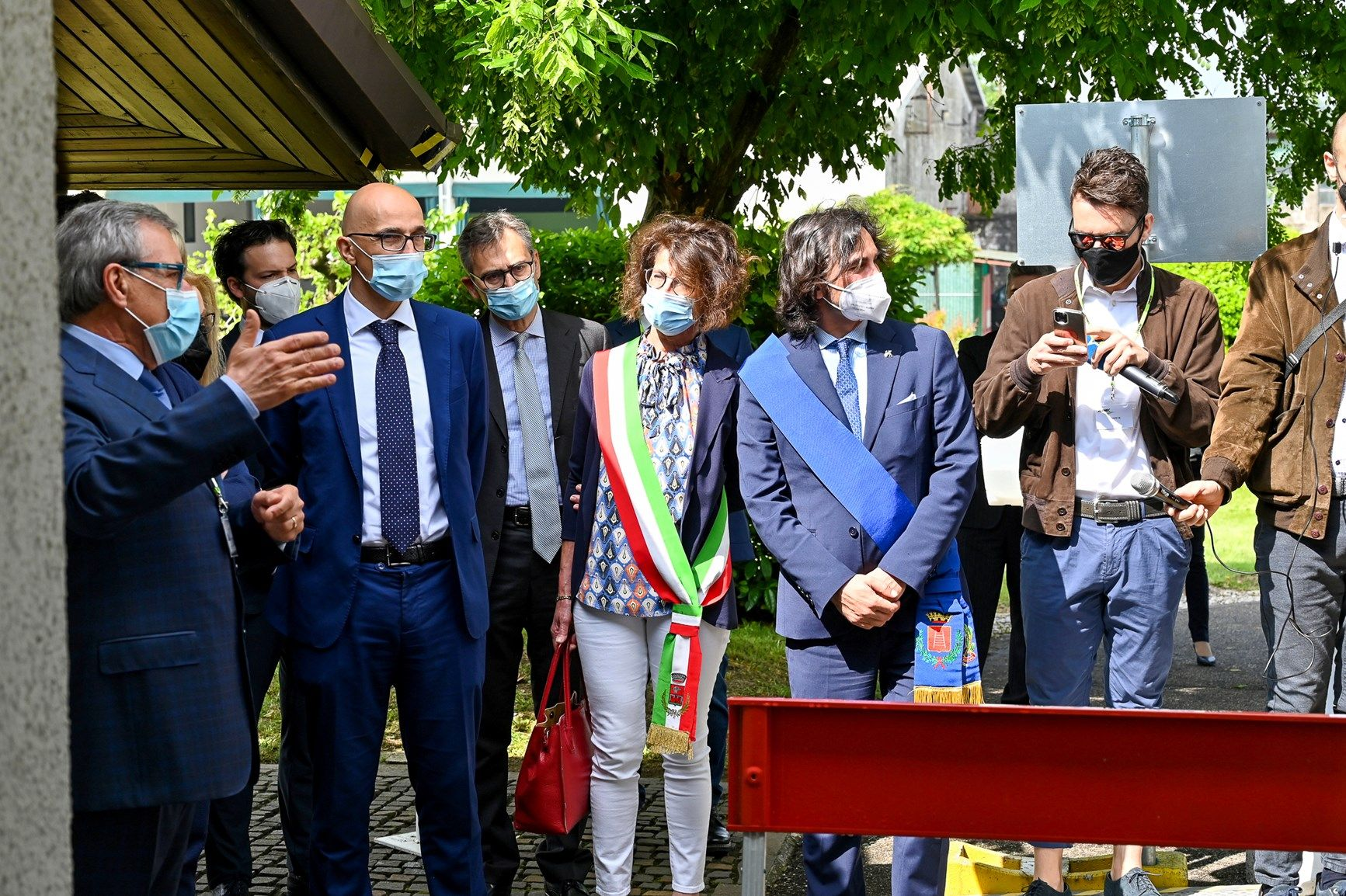 Inaugurato l'hub vaccinale Aermec