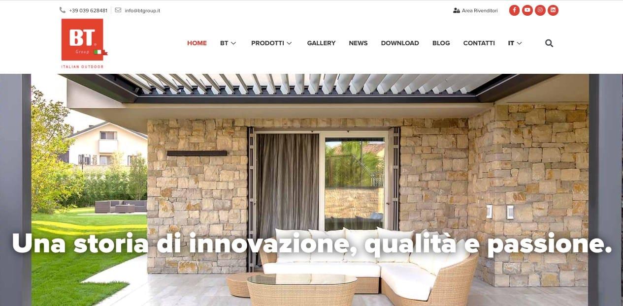 BT Group è online con il nuovo sito