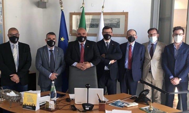 Alcuni dei relatori presso la sede del CNG di Roma