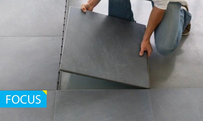 Foto: pavimento autoposante in materiali ceramici ARSRATIO ©Casalgrande Padana