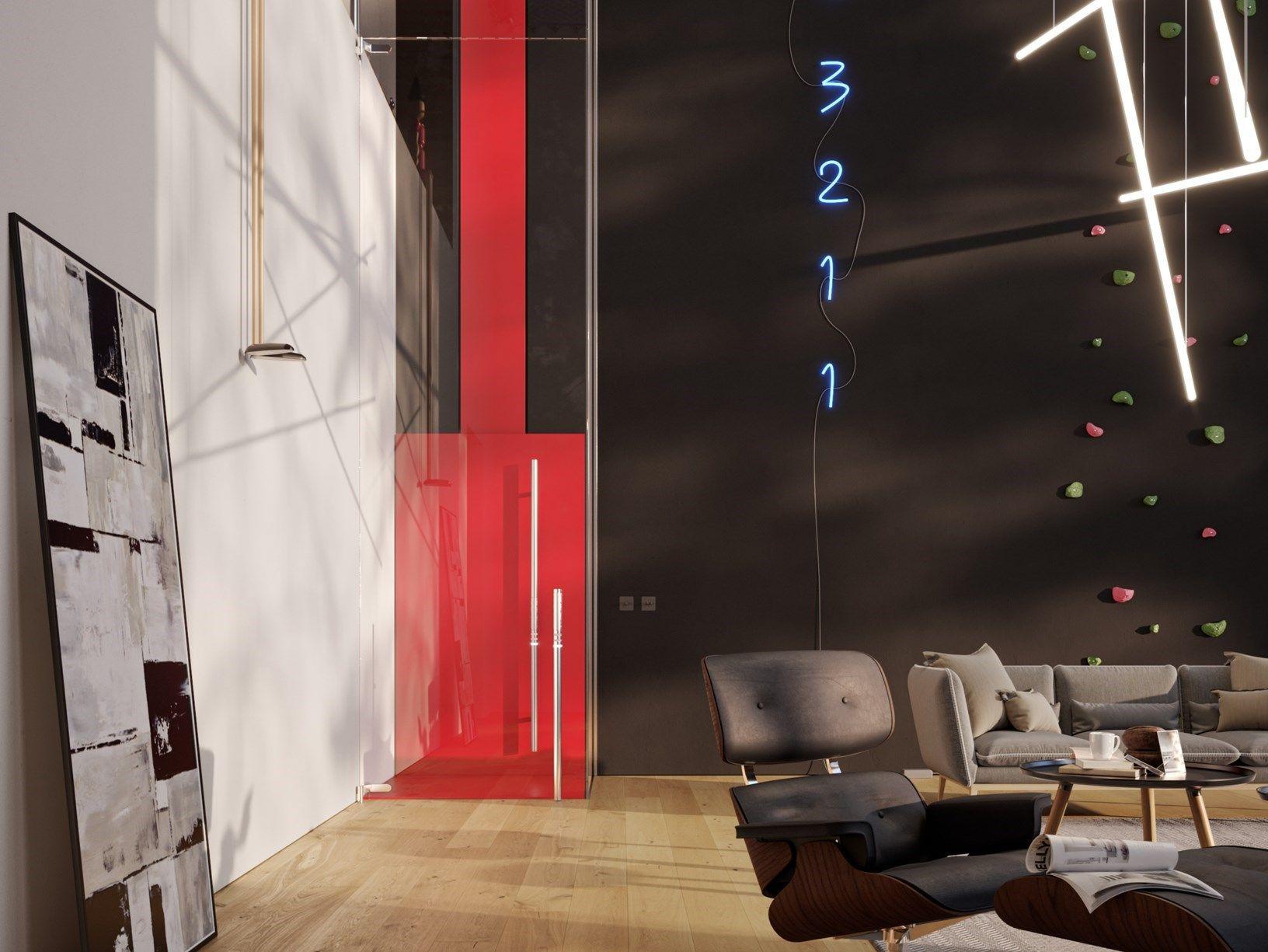 L'Home Lift ALA di Vimec firmato Adriano Design