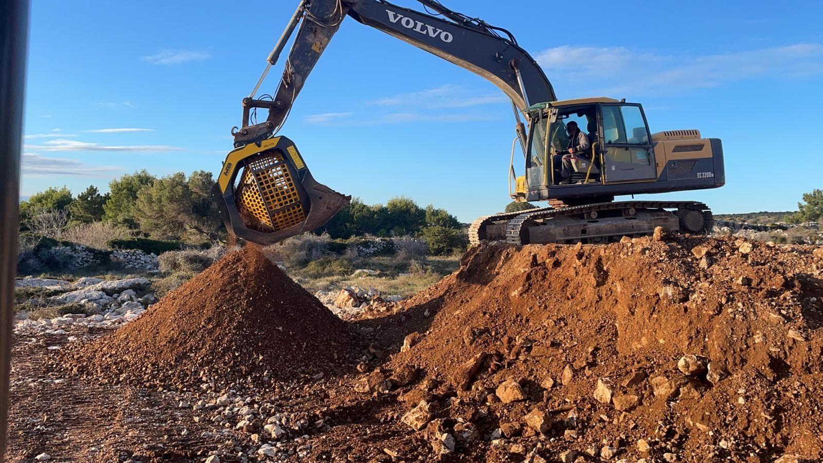 MB Crusher: terre, rocce da scavo e sabbia, come gestirle in cantiere?