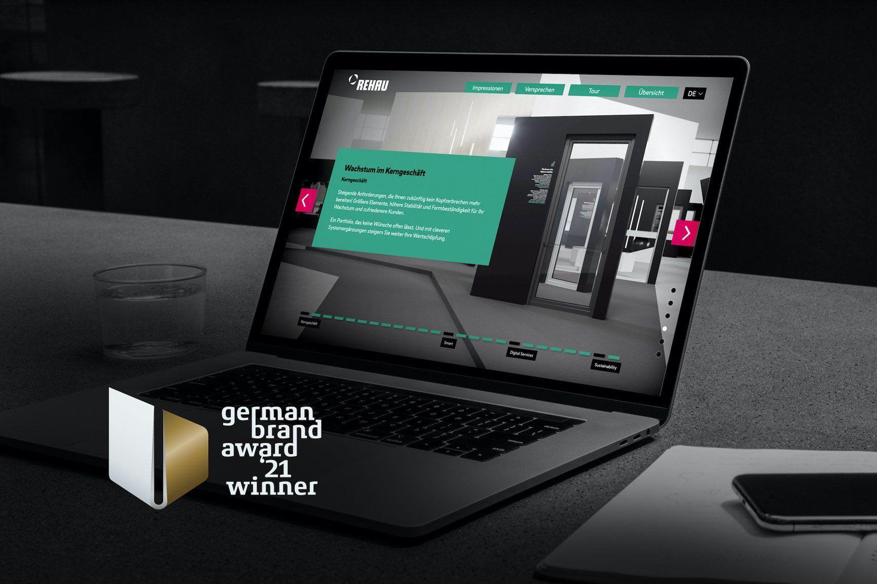 Rehau si aggiudica il German Brand Award 2021
