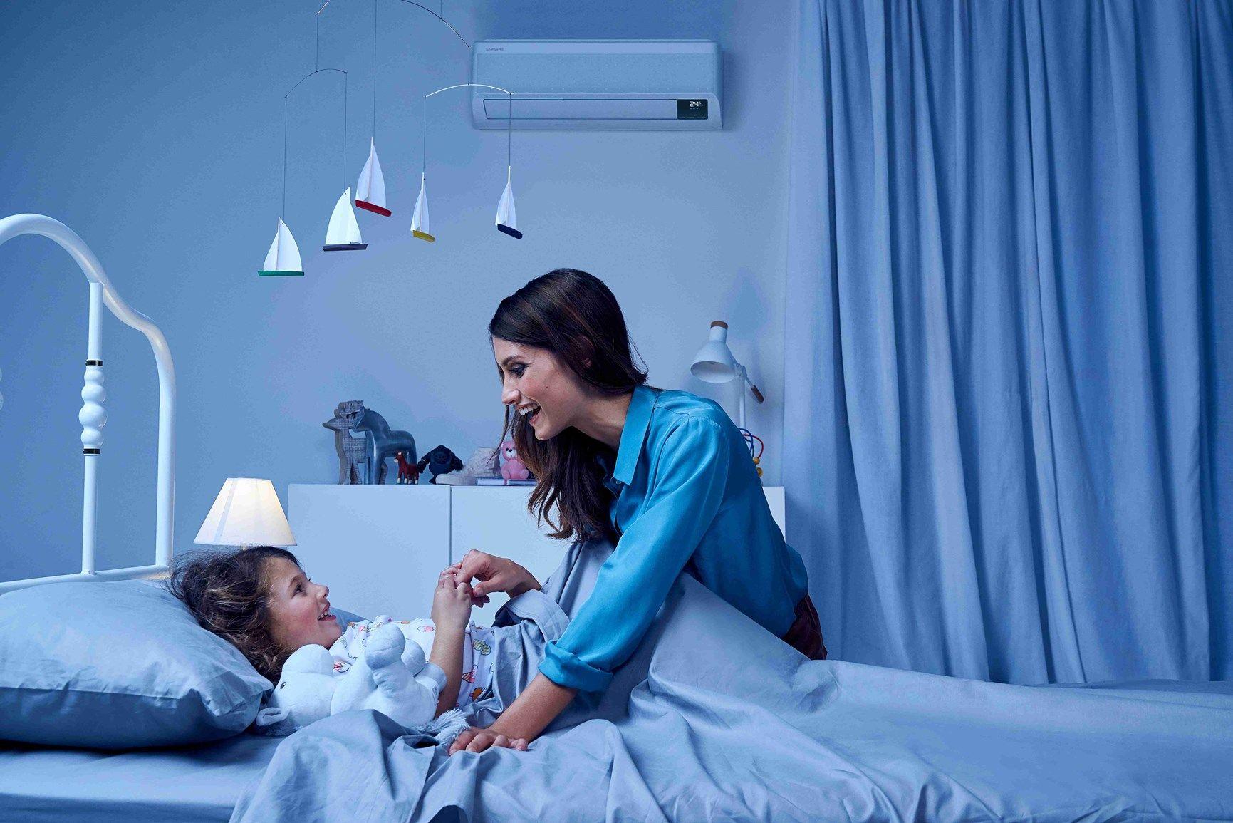 Indagine Samsung e Fattore Mamma: mamme, bambini e climatizzazione domestica