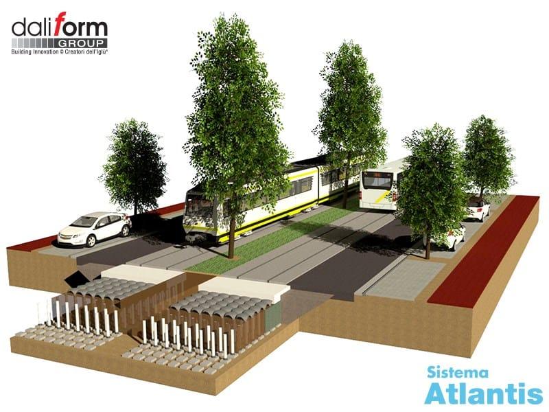 Proteggere la pavimentazione stradale dalle radici degli alberi con Daliform