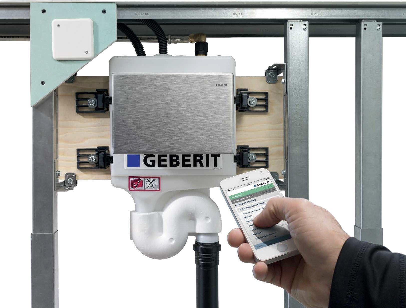 Le soluzioni Geberit per un'acqua potabile sicura