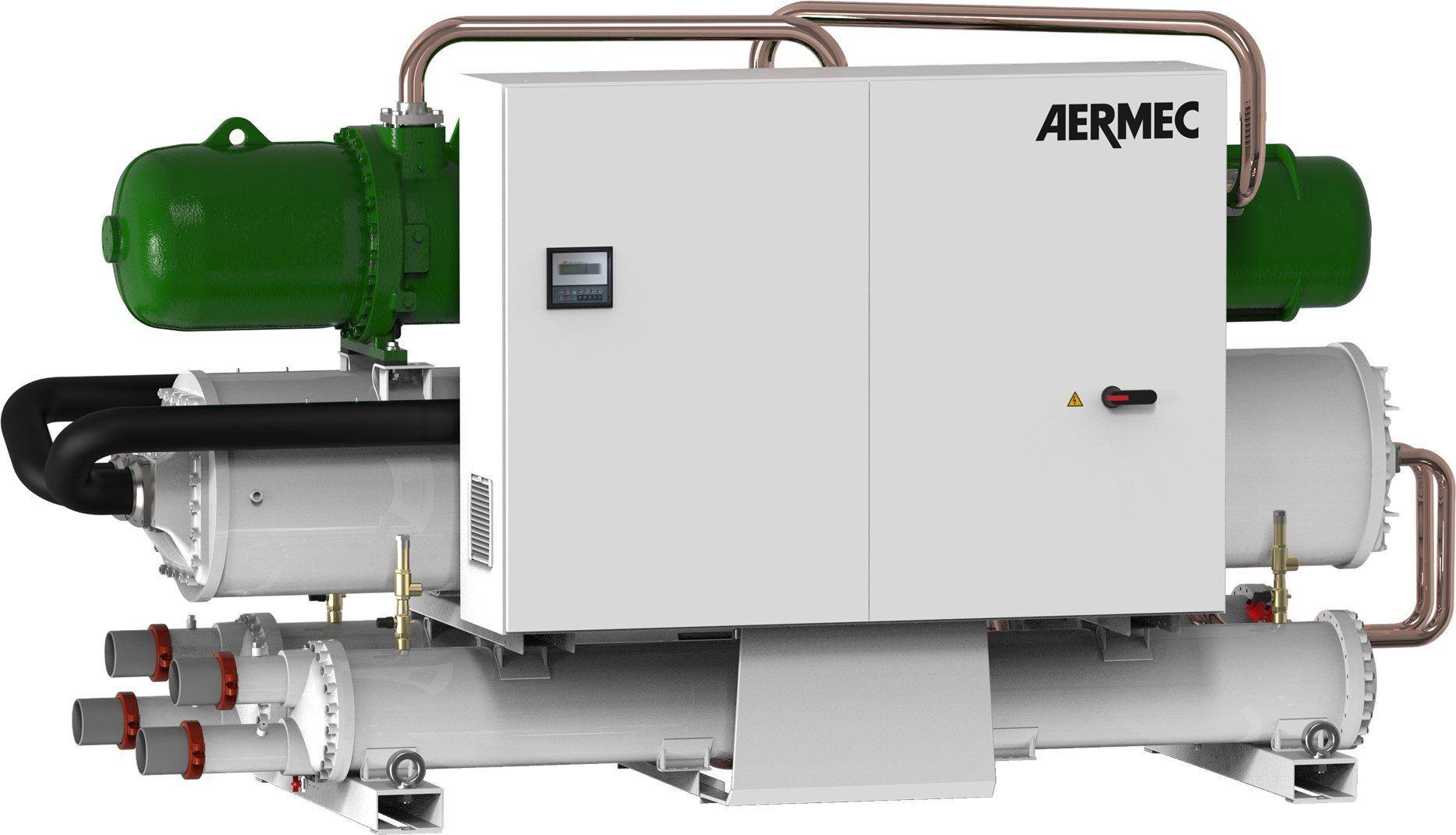 Refrigerante R515B per le nuove unità acqua-acqua serie WFGN e WFGI di AERMEC