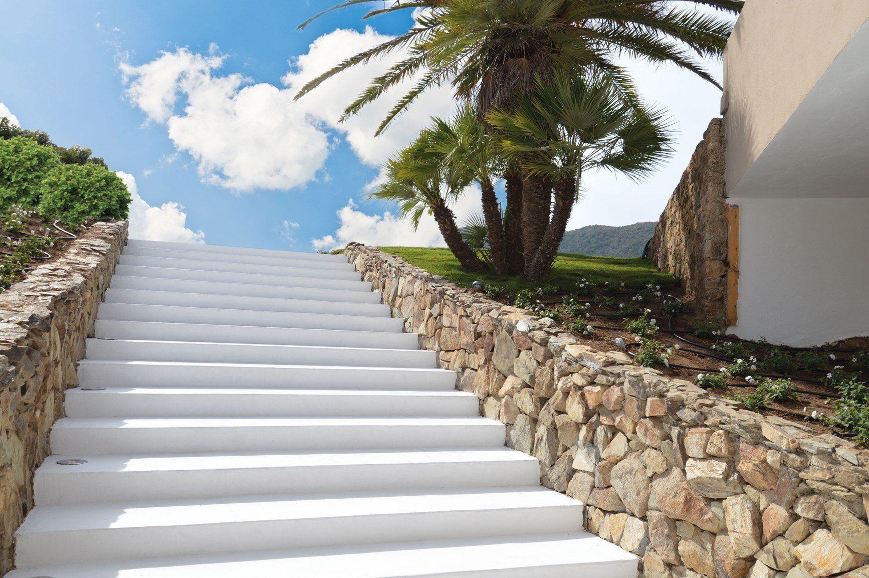 I cementi creativi Isoplam tra le meraviglie del Chia Laguna Resort