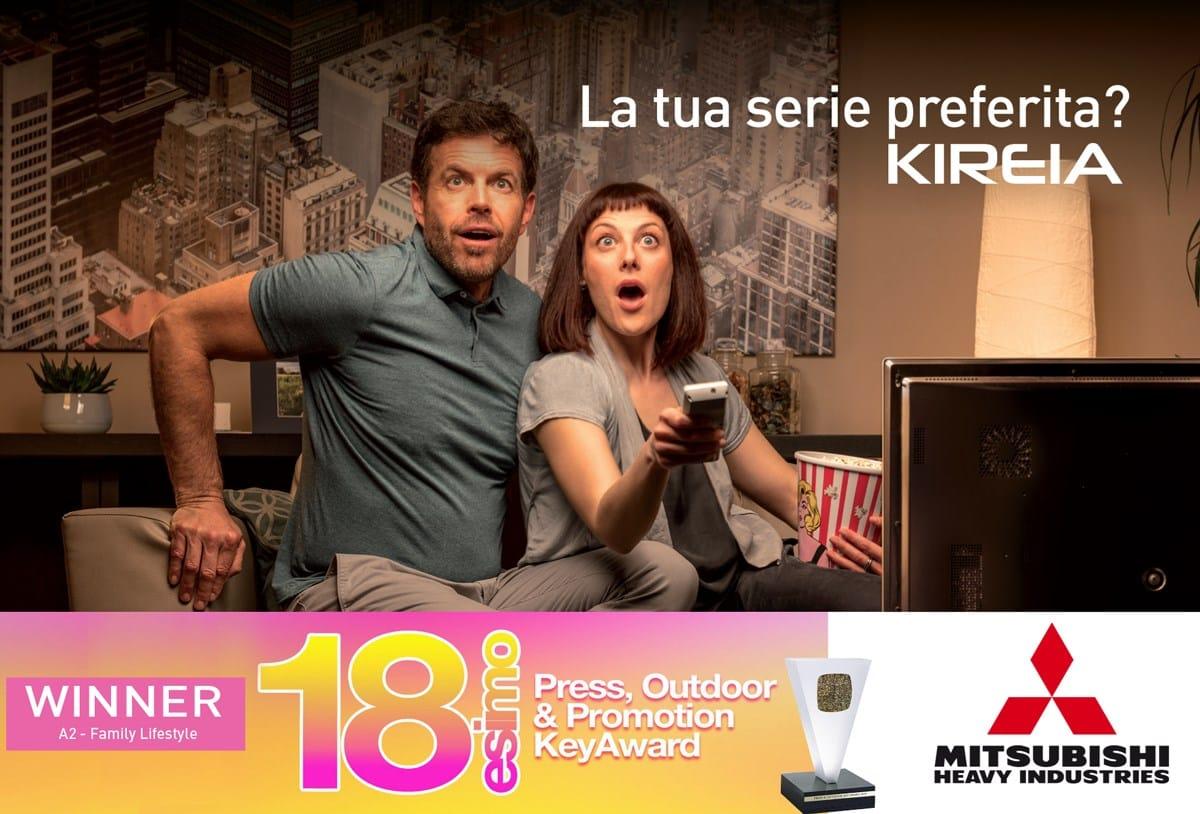 MHI si aggiudica il 18° Press, Outdoor & Promotion Key Award