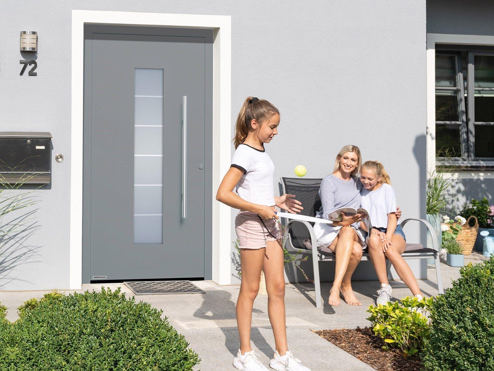 Nuova porta d'ingresso ThermoSafe Hörmann: sicura e confortevole