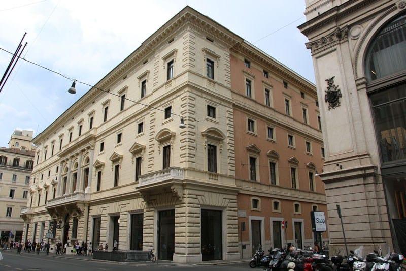 Stiferite per il recupero di Palazzo Marignoli a Roma