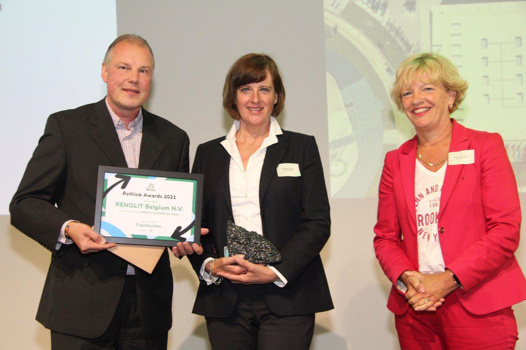 Rethink Awards 2021: Renolit vince con il prodotto Renolit Alkorplan Smart