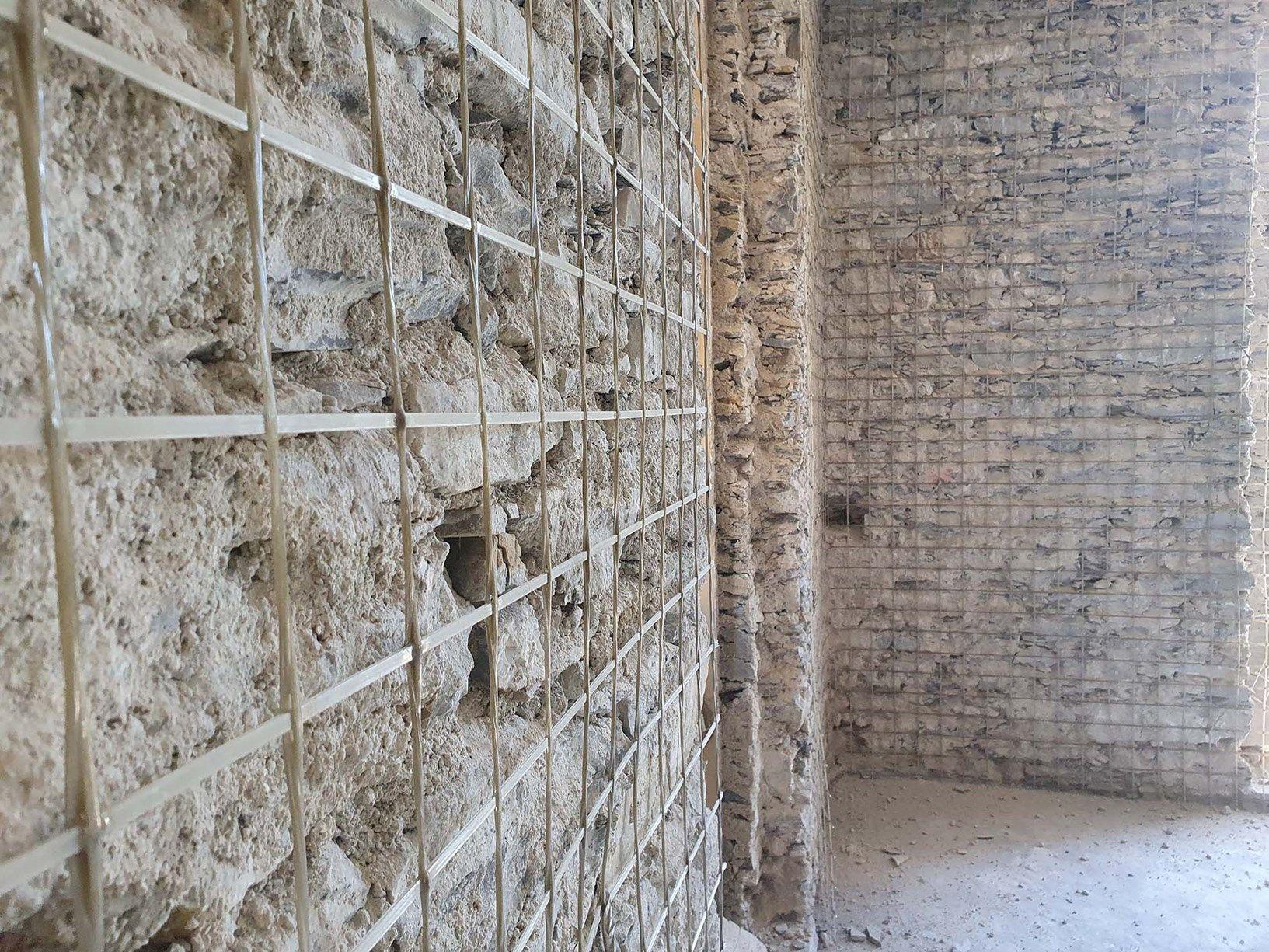 Il consolidamento delle murature con il Sistema CRM: intonaco Armato di Ruregold
