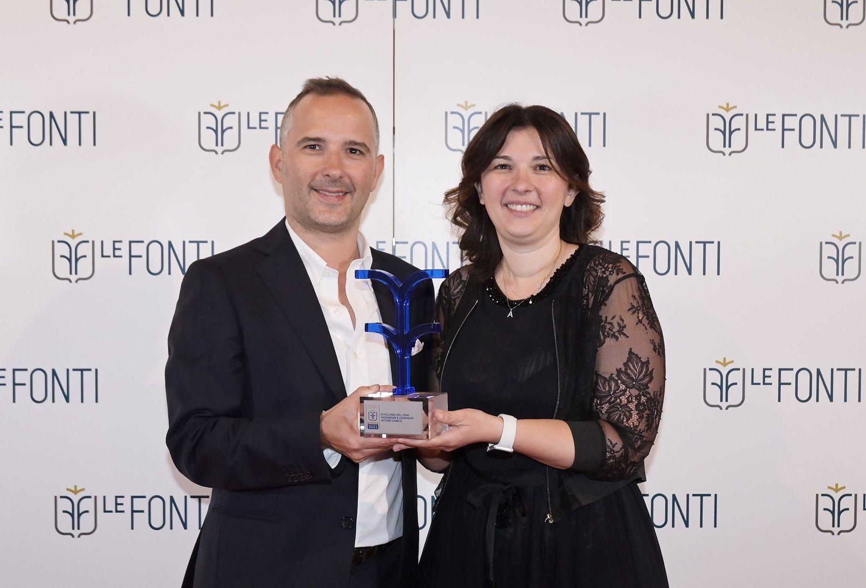 Le Fonti Awards premia FILA Solutions come 'Eccellenza dell'anno'