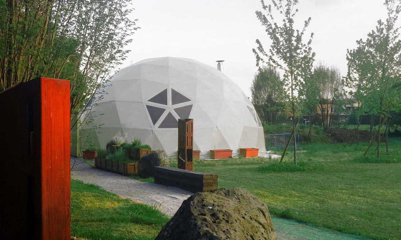 Cupole geodetiche by Kopron, tra leggerezza design e solidità