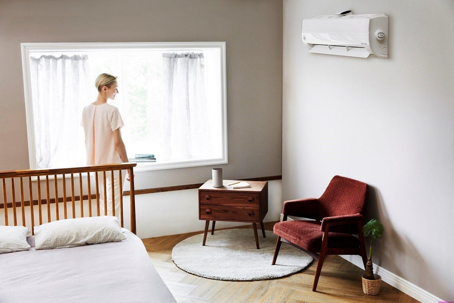 Climatizzatori e purificatori d'aria LG sempre più smart grazie alla compatibilità con Amazon Alexa