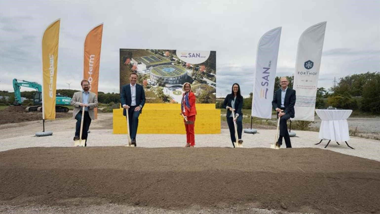 Il primo Fronius Solhub alimenterà il nuovo stabilimento di San Group in Austria