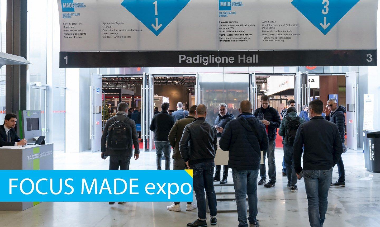 MADE expo insieme a Sicurezza e Smart Building expo: tre progetti ma un unico obiettivo