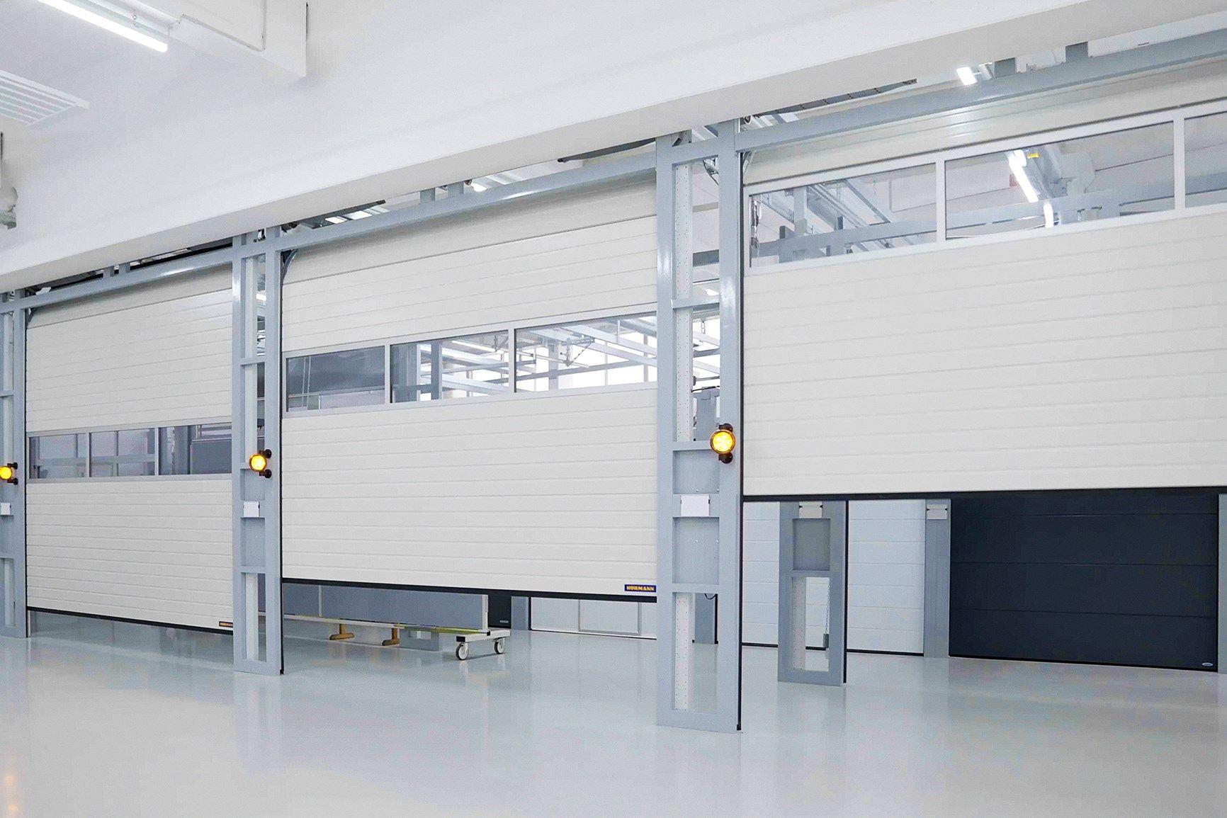 Nuova Serie 60 Hörmann: portoni sezionali industriali ancor più veloci, sicuri e smart