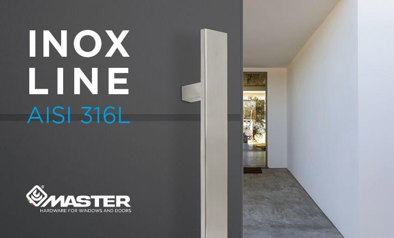 Master Italy presenta Inox Line, la nuova gamma di maniglioni per porte in acciaio inox
