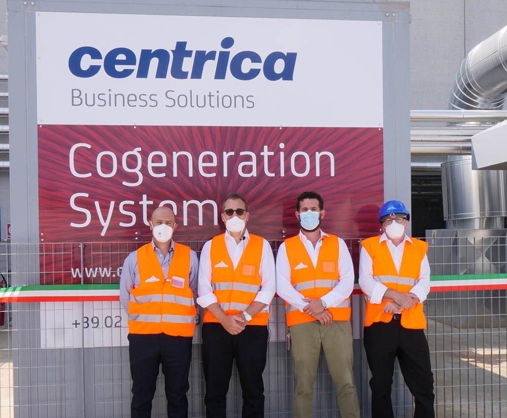 Inaugurato il 6 settembre l'impianto di cogenerazione presso lo stabilimento Saint-Gobain di Termoli (CB)