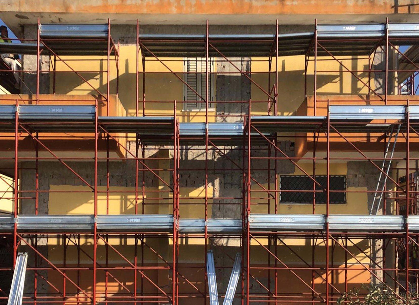 I rinforzi strutturali a base di FRCM Ruregold riqualificano un immobile ad uso abitativo a Crotone