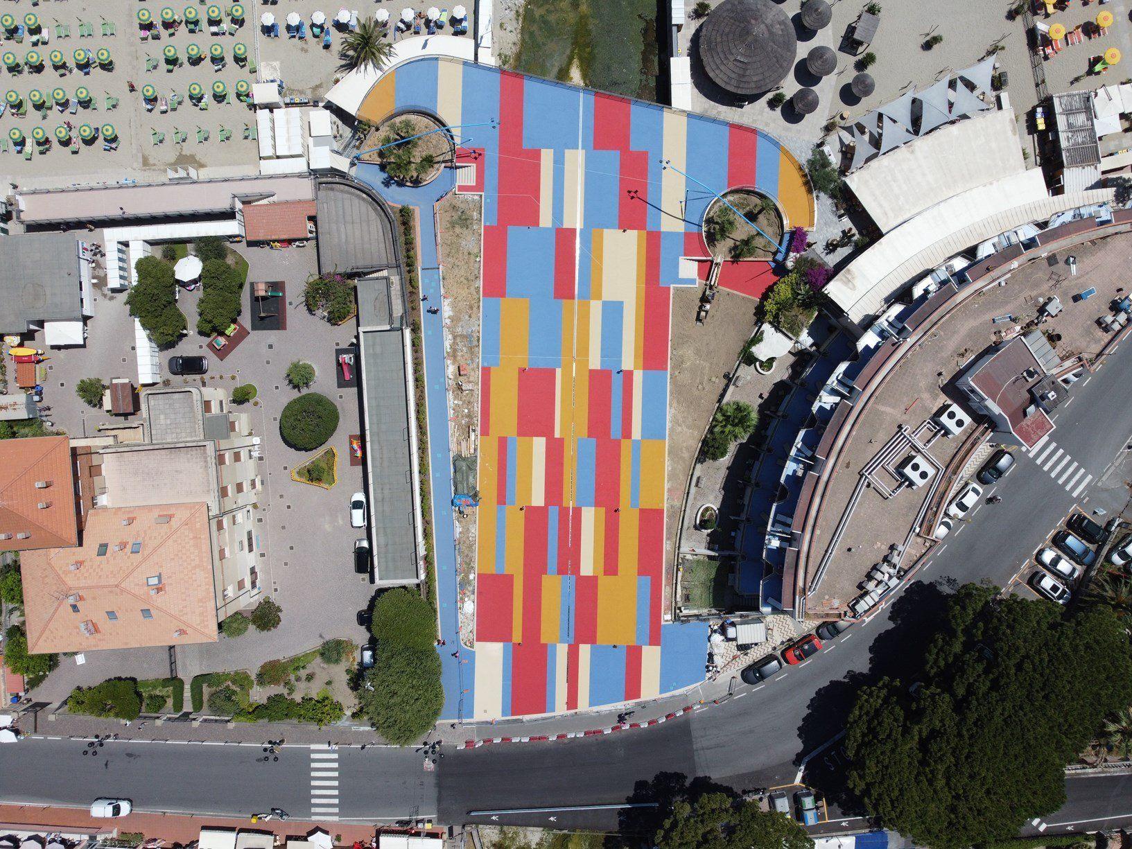IPM Italia per la nuova Rotonda Ferrer Manuelli di Spotorno