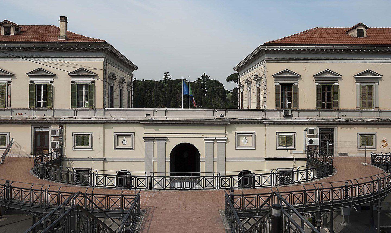 Policlinico Militare del Celio, Roma. Foto: © Laterlite