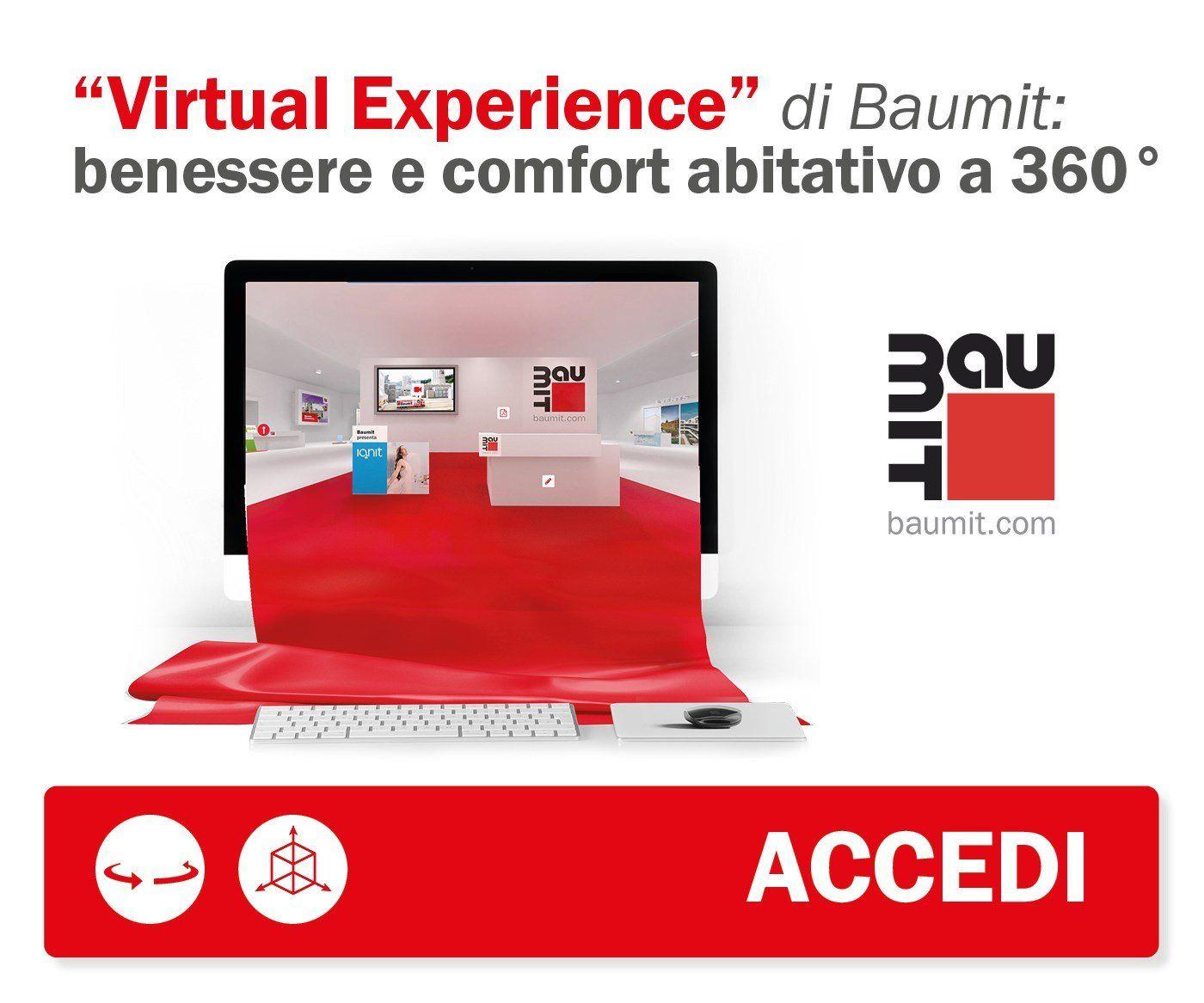 Baumit Virtual Experience: inizia il tour nel mondo Baumit