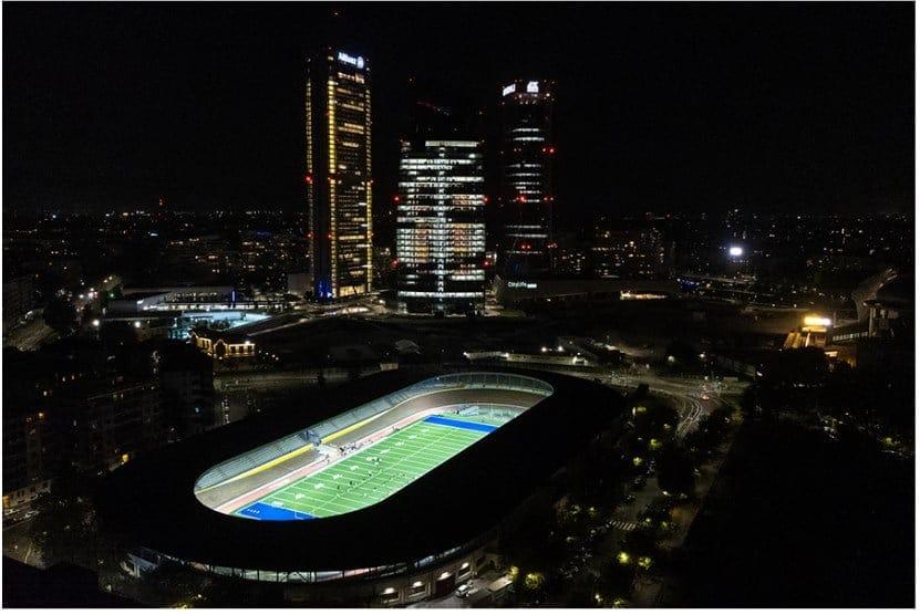 Digital Sport Innovation e Gewiss riaccendono la luce del Velodromo Maspes-Vigorelli