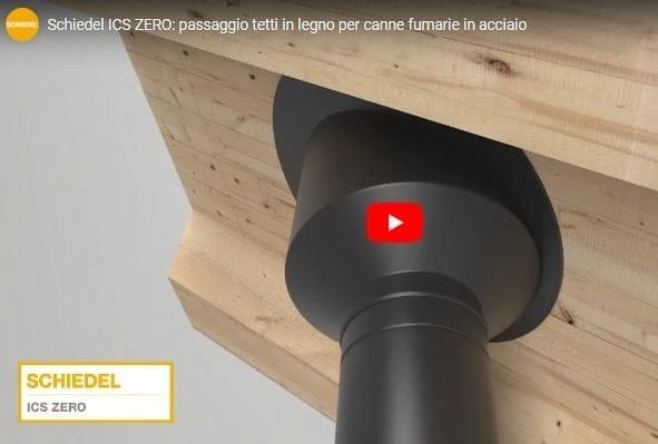 Canne fumarie e passaggi tetto: sicurezza antincendio con Schiedel ICS Zero