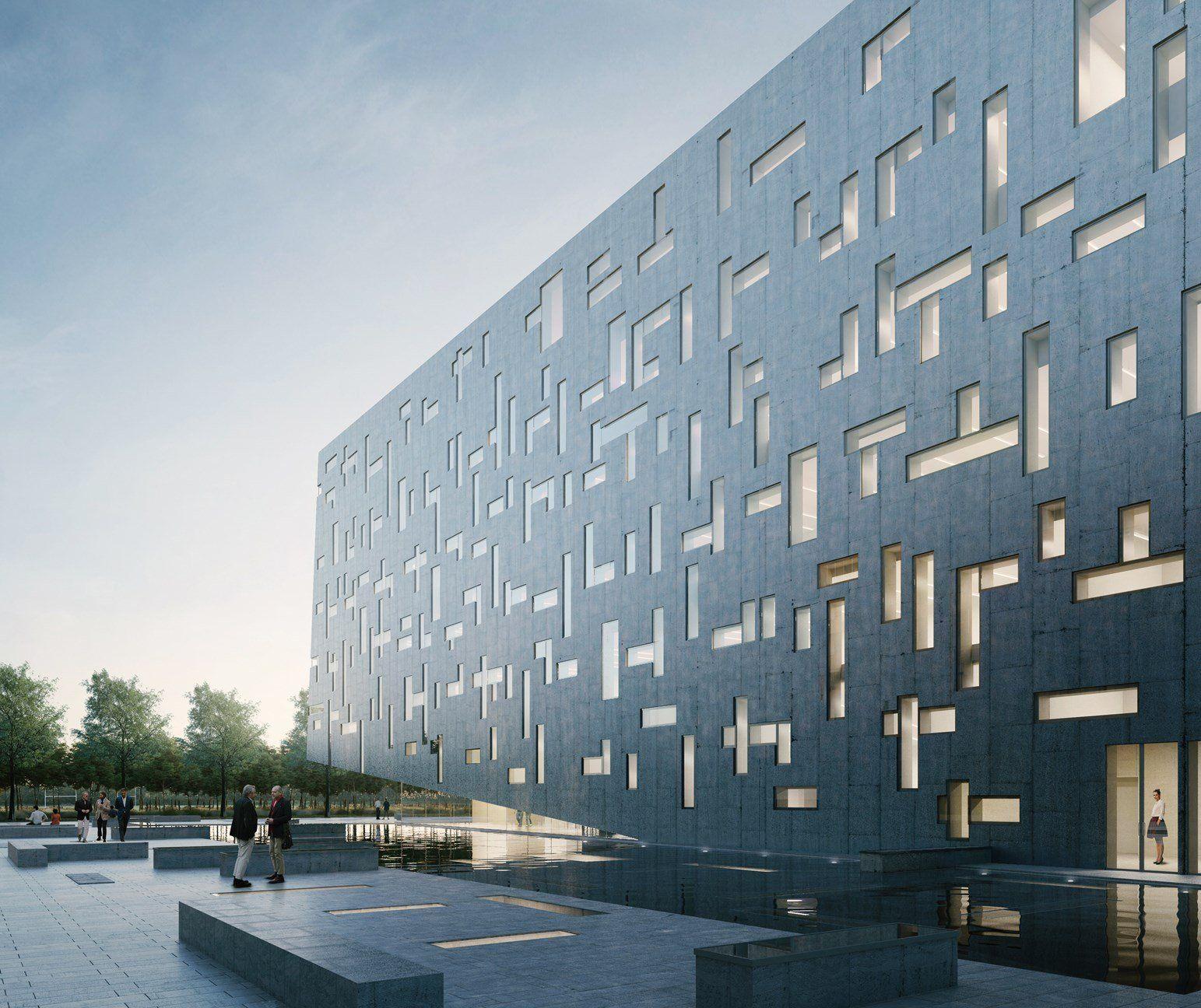 ECOPact, il calcestruzzo sostenibile di Holcim per la sostenibilità dell'ARCA di Milano