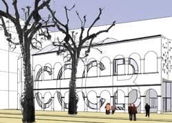 Barcellona: ampliamento del centro di cultura contemporanea