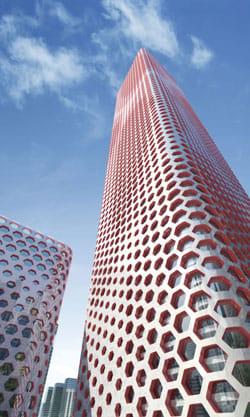 Un avveniristico grattacielo di 320 m per Tianjin, Cina