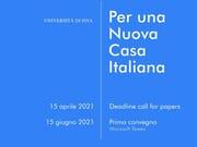 'Per una nuova casa italiana'