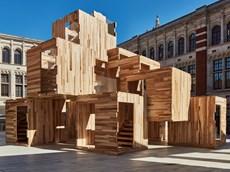 MultiPly: il padiglione modulare in legno a impatto zero