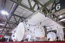 Pedrali, lo stand al Salone Internazionale del Mobile