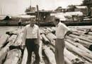Angelo e Carlo Molteni In Birmania per acquistare il legno - - Photos Courtesy © Molteni&C