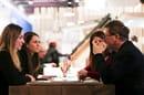 Cino Zucchi durante la revisione delle Tesi del corso di Progettazione e Innovazione Tecnologica del Politecnico di Milano - © Irene Giunta