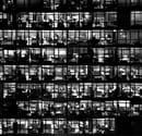 Cesare Colombo, La Torre Galfa vista dal grattacielo Pirelli, Milano, 1968 - ©Cesare Colombo