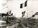 Publifoto - Roma. Via Olimpica. Aste tubolari portabandiera, 1960 - © Fondazione Dalmine