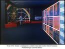 G. Colombo, interni della mostra Olivetti Investigación y Diseño, Barcellona