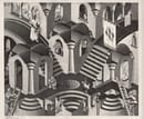 Convesso e concavo, 1955 - All M.C. Escher works © 2018 The M.C. Escher Company. All rights reserved